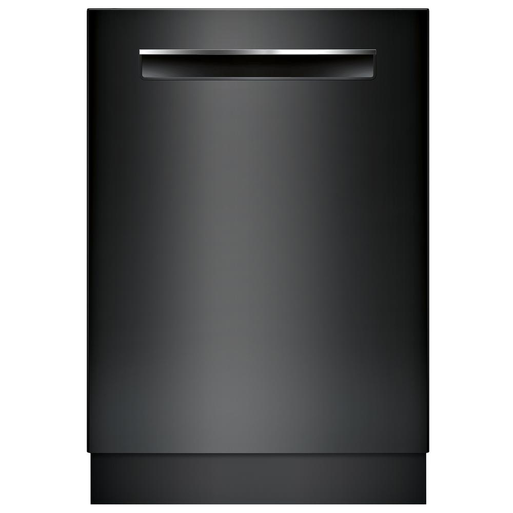 500 Series Top Control Tall Tub Dishwasher in Black with Stainless