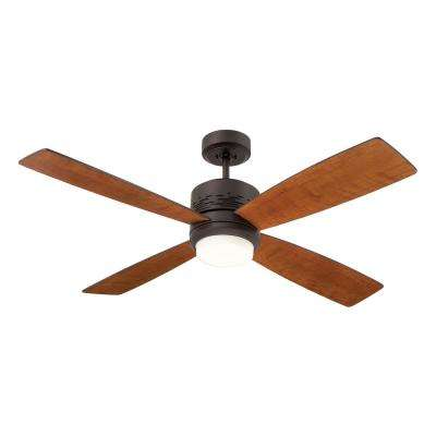Highrise 50 in. LED Oil Rubbed Bronze Ceiling Fan