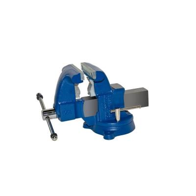 5-1/2 in. Medium Duty Tradesman Combination Pipe and Bench Vise - Swivel Base