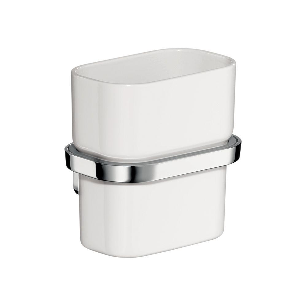 Hansgrohe Axor Urquiola Wall-Mounted Tumbler with Holder in Chrome