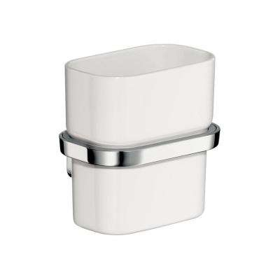 Axor Urquiola Wall-Mounted Tumbler with Holder in Chrome