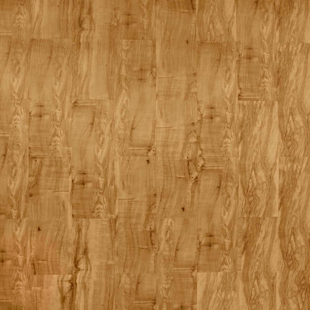 TrafficMASTER Rustic Maple Honeytone 5-45/64 in. x 35-45/64 in. x 4 mm Vinyl Plank Flooring (22.66 sq. ft. / case)