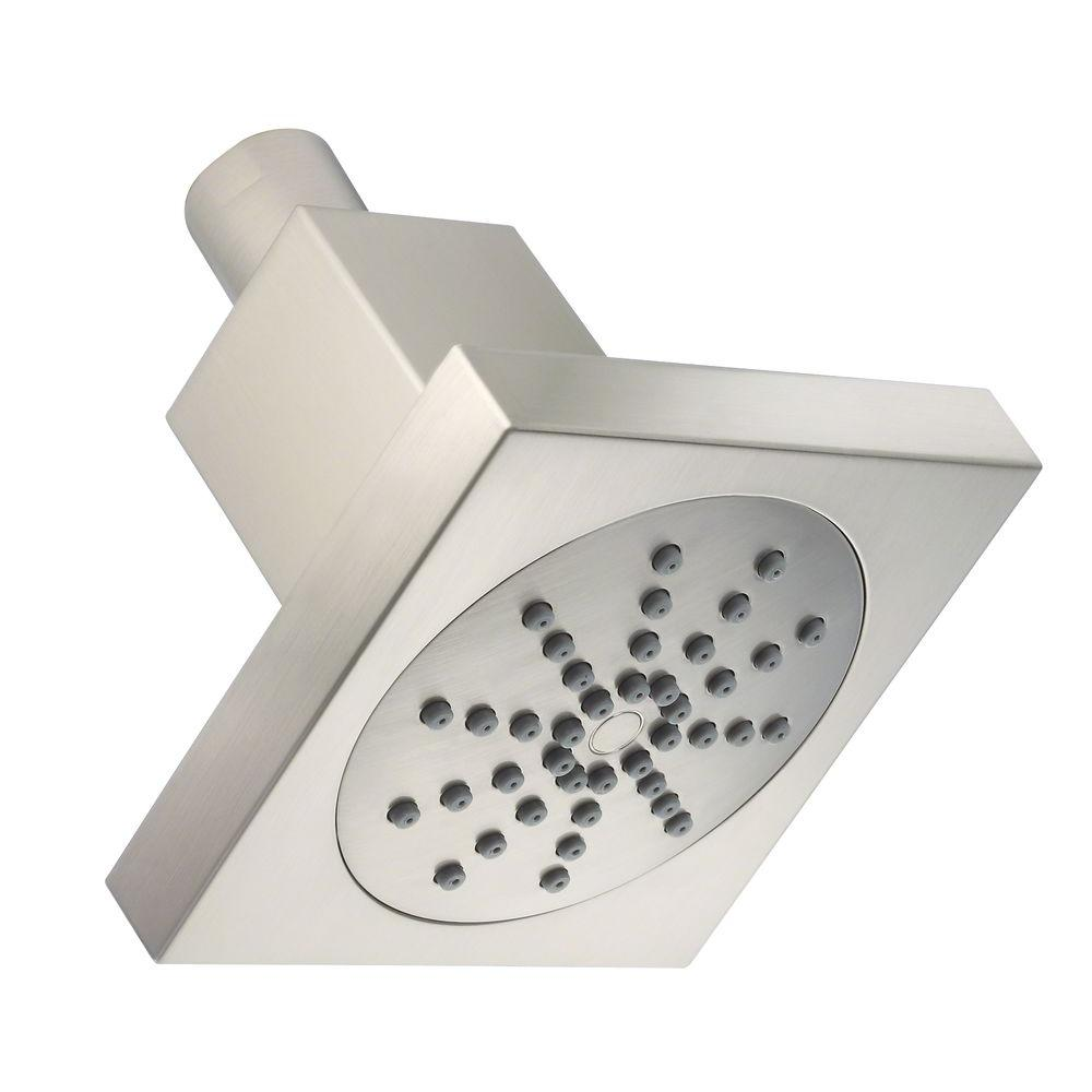 Square Showerhead In Brushed Nickel