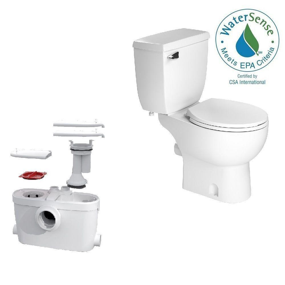 Bathroom Anywhere Macerator Pump Liberty Pumps Ascentii Esw 1 2 Hp 115vesw Macerating Toilet