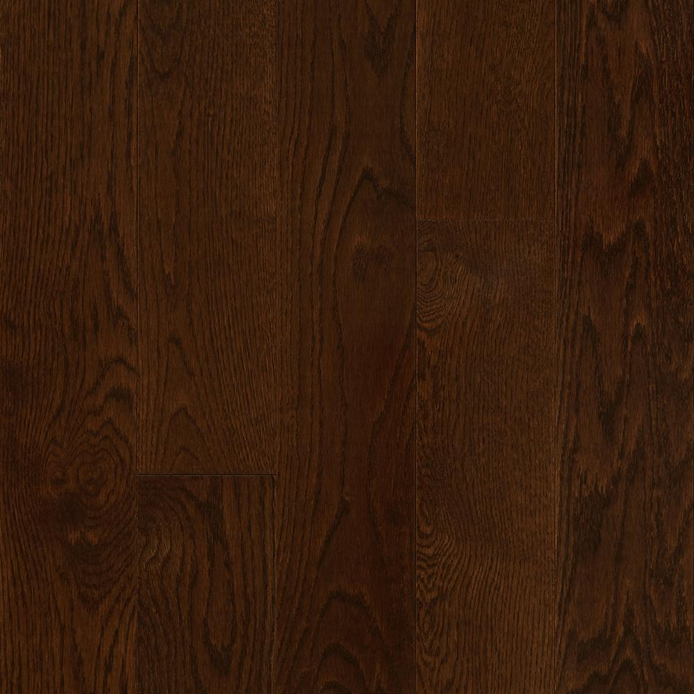 Plano Oak Mocha 3/4 in. Thick x 5 in. Wide x