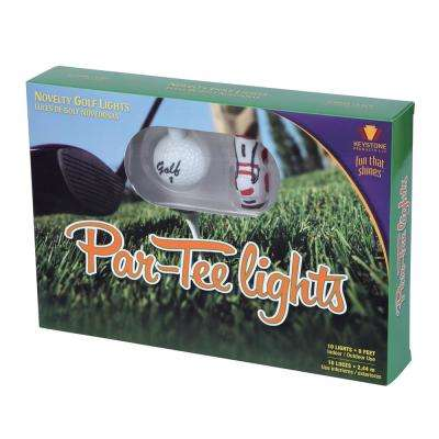 Par-Tee Golf 10-Light Novelty String
