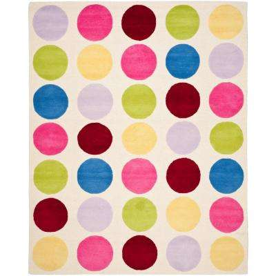 Playroom 8 X 10 Ivory Kids Rugs Rugs The Home Depot