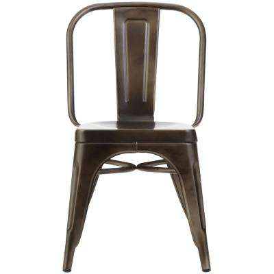Garden Gun Metal Side Chairs (Set of 2)