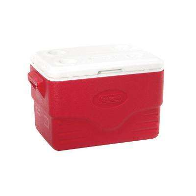 36 Qt. Cooler with 4 Built-in Cup Holders