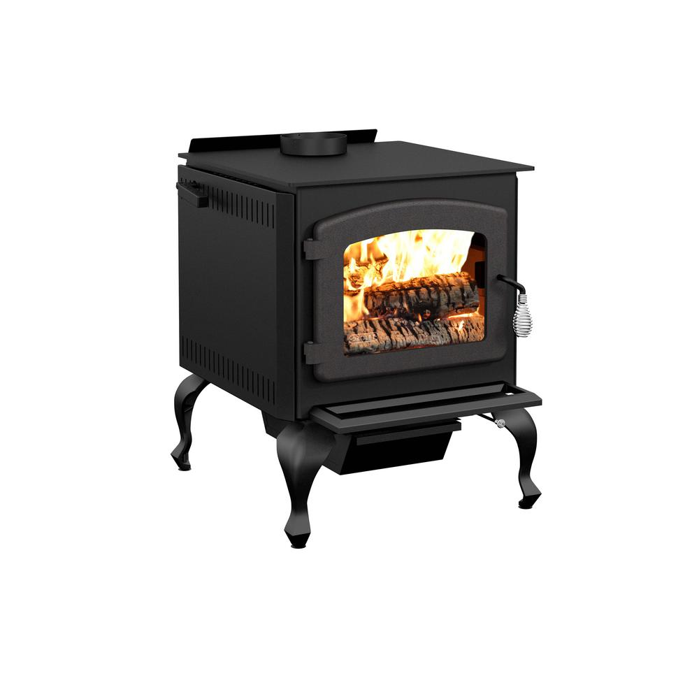Drolet Legende II 26 in. Wood Stove 2100 sq. ft. with Blower EPA ...