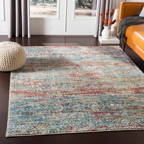 Artistic Weavers Caius Multi 3 Ft 11 In X 5 Ft 11 In Solid Area Rug S00161011320 The Home Depot