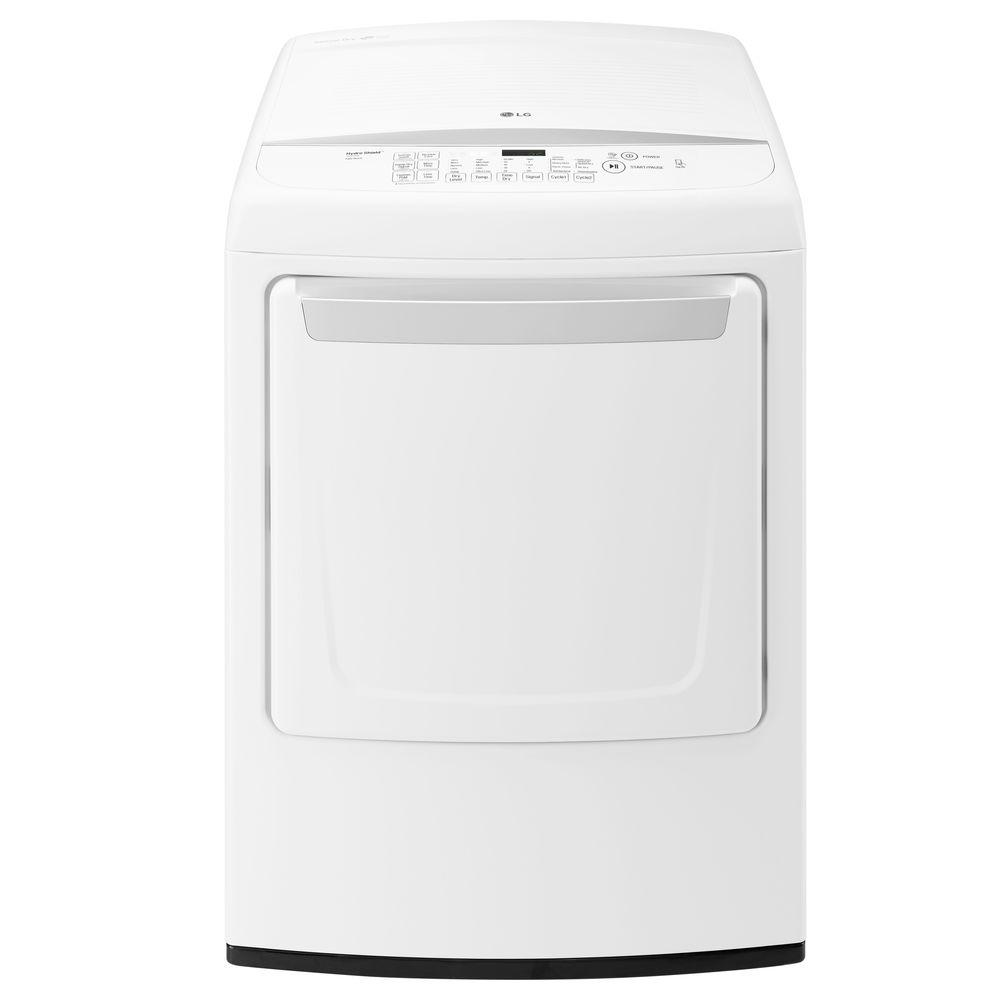 LG Electronics 7.3 cu. ft. Gas Dryer with Front Control in ... - photo#48