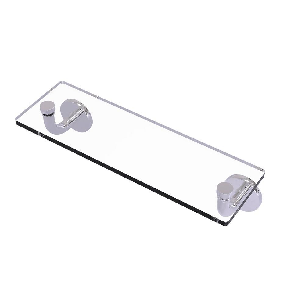 Allied Brass Remi Collection 16 in. Glass Vanity Shelf with Beveled ...