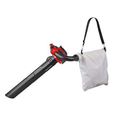 BV2126 170 MPH 425 CFM 28cc Gas Handheld Leaf Blower and Vacuum