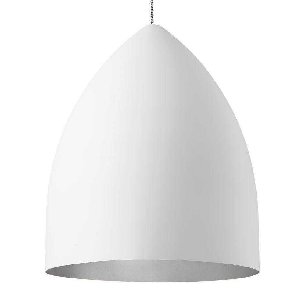 LBL Lighting Signal Grande 1-Light White Line-Voltage Pendant LBL Lighting Signal Grande 1-Light White Line-Voltage Pendant