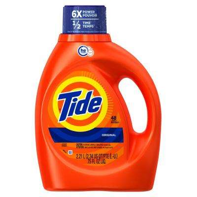 75 oz. Original Scent HE Liquid Laundry Detergent (48-Loads)