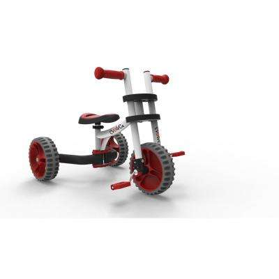 EVOLVE Balance Trike White Red