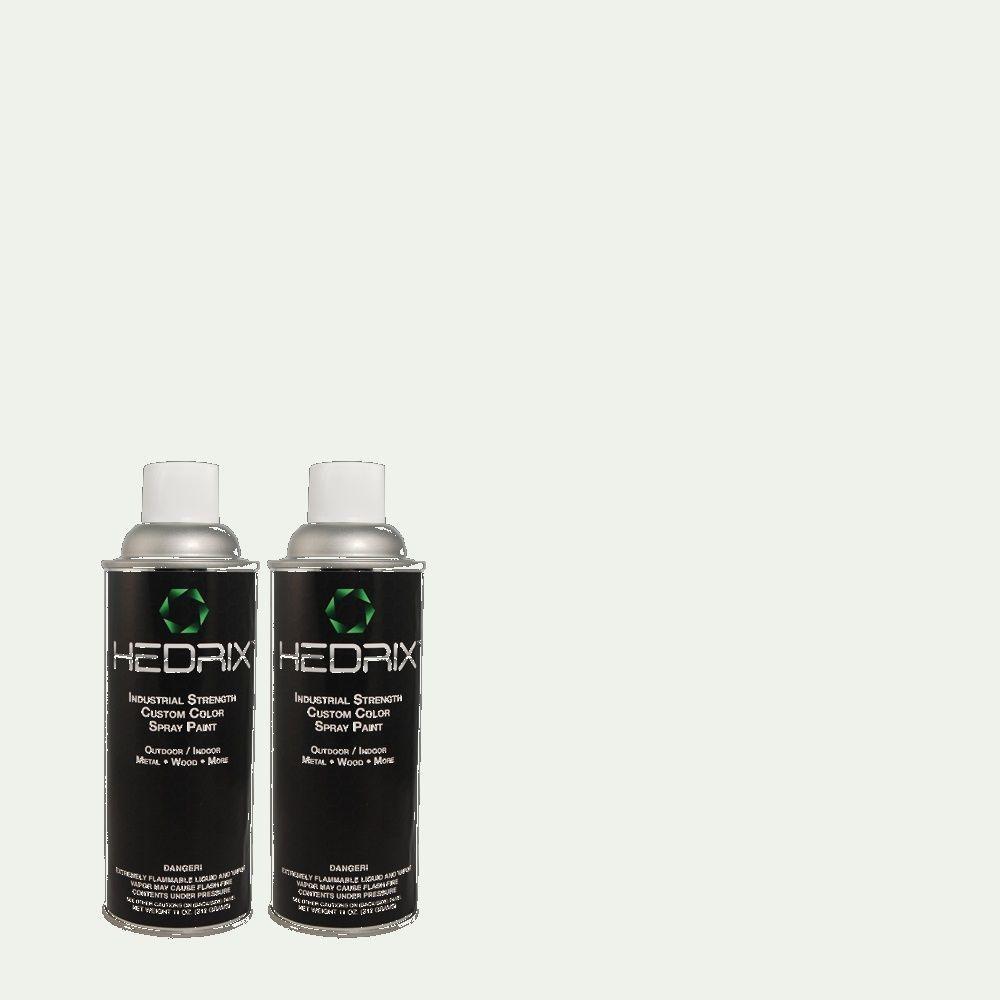 Hedrix 11 oz. Match of PPWC-14 Starlet Flat Custom Spray Paint (2-Pack)