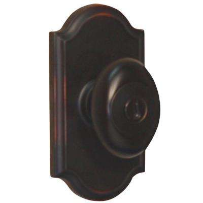 Elegance Oil-Rubbed Bronze Premiere Keyed Entry Julienne Door Knob