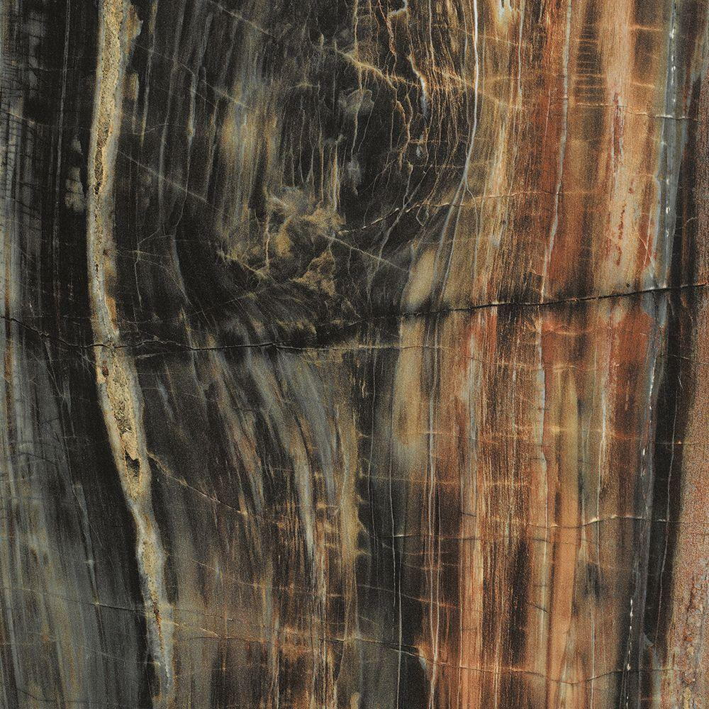 FORMICA 4 ft. x 8 ft. Laminate Sheet in 180fx Petrified Wood with Etchings Finish