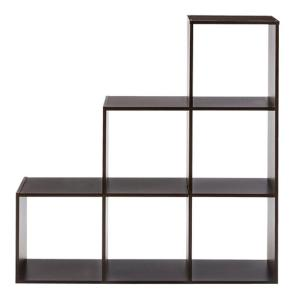 ClosetMaid 36 In. W X 36 In. H Espresso 3 2 1 Cube Organizer 12255   The  Home Depot