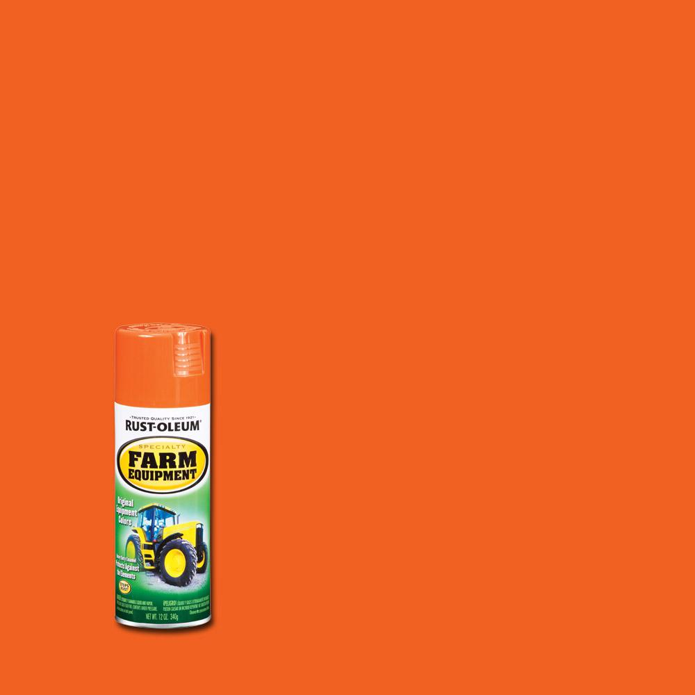 12 oz. Farm Equipment Allis Chalmers Orange Gloss Enamel Spray Paint