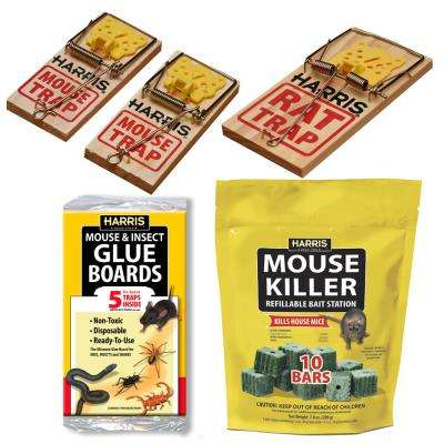 Rat and Mouse Bait and Trap Value Pack