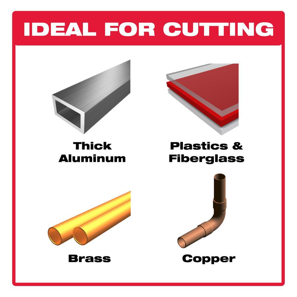 12 in. x 96-Tooth Laminate/Non-Ferrous Metal Cutting Saw Blade