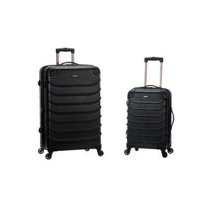 Rockland Expandable Speciale 2-Piece Hardside Spinner Luggage Set, Black