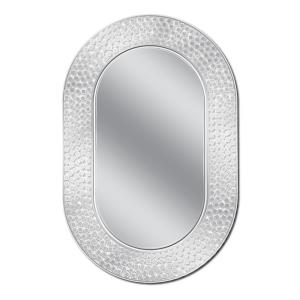 Deco Mirror 23 inch W x 35 inch H Tetra Etched Wall Mirror by Deco Mirror