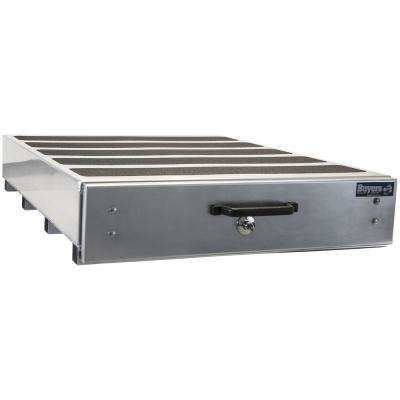 12 in. x 24 in. x 40 in. Smooth Aluminum Slide Out Truck Bed Box