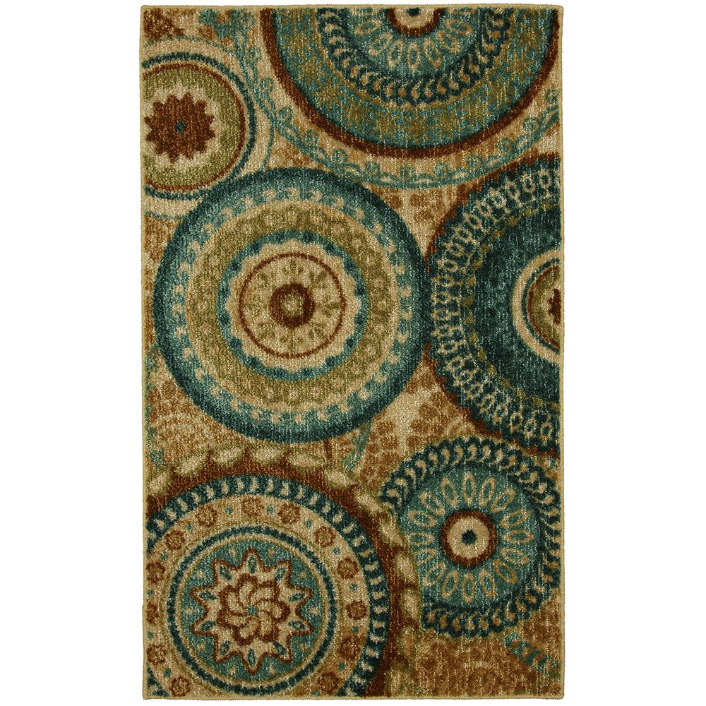 Forest Suzani Multi 2 ft. 6 in. x 3 ft. 10