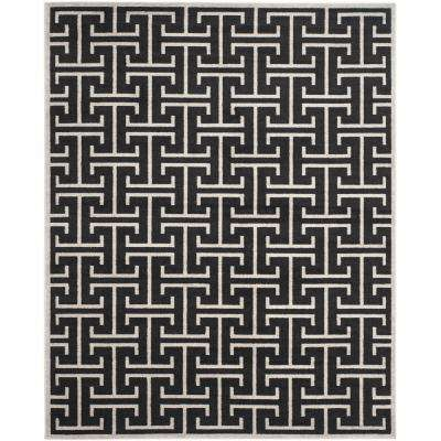 Amherst Anthracite/Light Gray 9 ft. x 12 ft. Indoor/Outdoor Area Rug