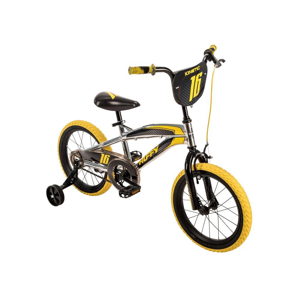 Kinetic 16 in. Boy's Metaloid Finish Bike