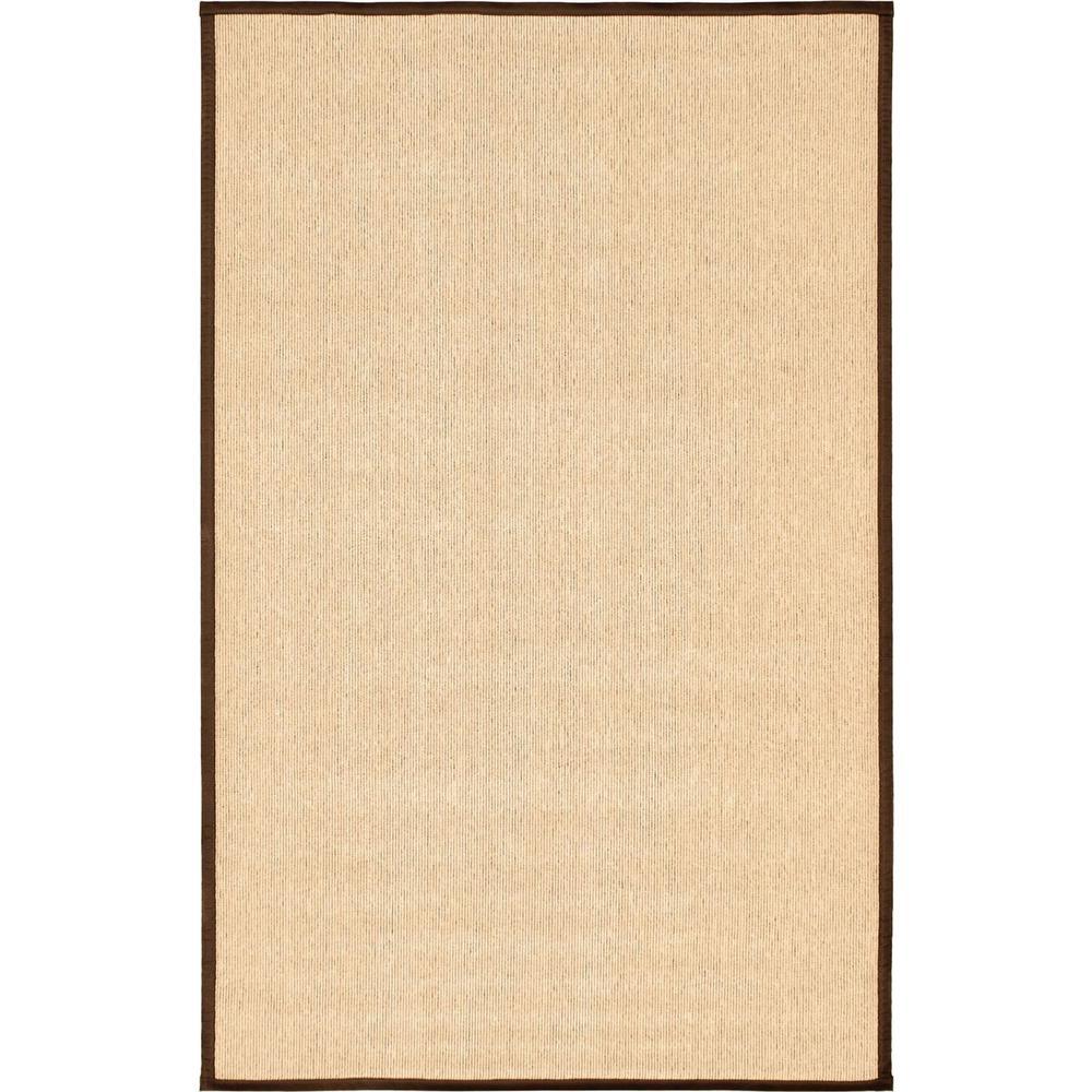 Ecarpet Gallery Sisal Cream 5 Ft X 8 Ft Area Rug 207756