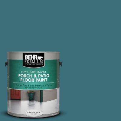 1 gal. #S450-6 Tornado Season Low-Lustre Porch and Patio Floor Paint