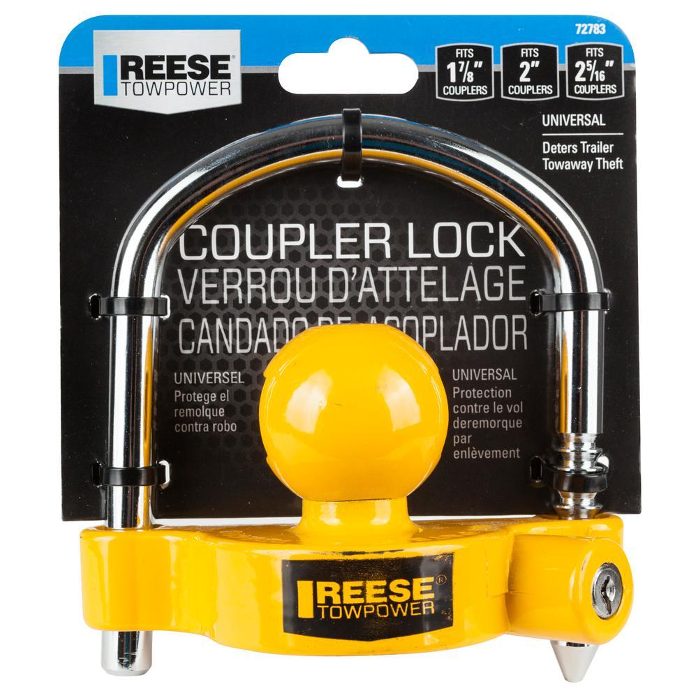 Reese Towpower 55003 Universal Coupler Lock