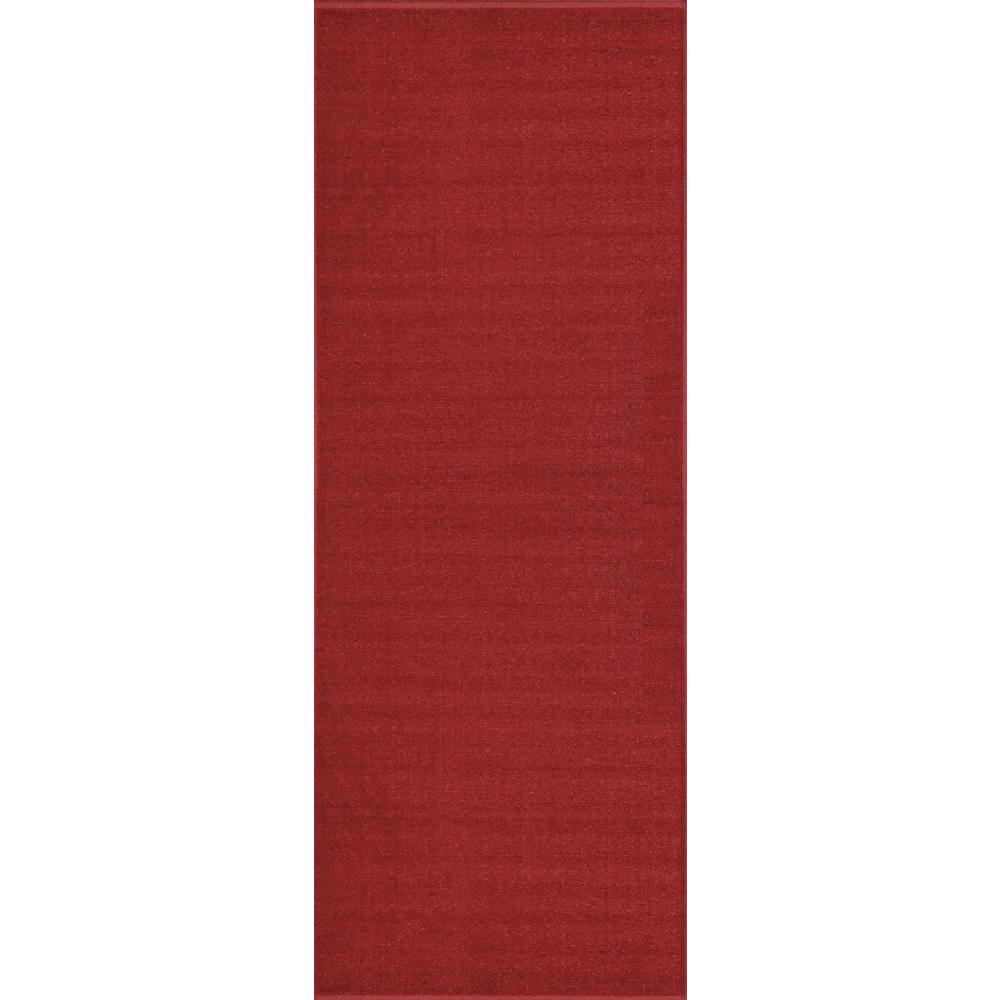 Maxy Home Hamam Collection Red 2 Ft X 7 Runner Rug