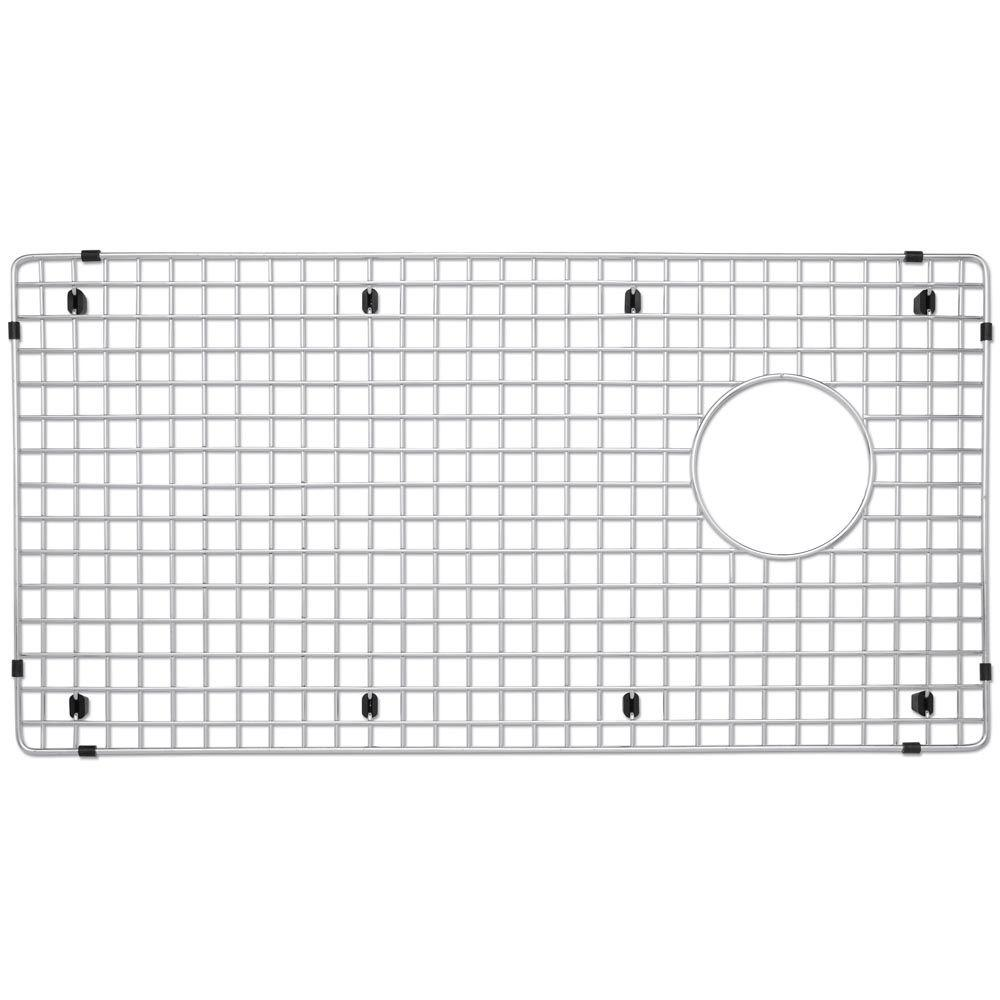 Blanco Stainless Steel Sink Grid For Fits Diamond Super Single Bowl 221010    The Home Depot