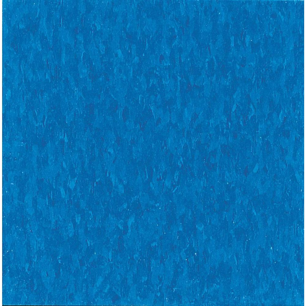 Imperial Texture VCT 12 in. x 12 in. Caribbean Blue Standard
