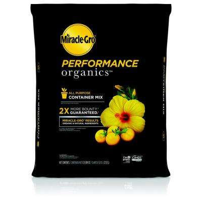 25 qt. Performance Organics Potting Soil Mix