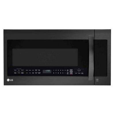 2.0 cu. ft. Over the Range Microwave Oven in Matte Black Stainless Steel with Sensor Cooking Technology