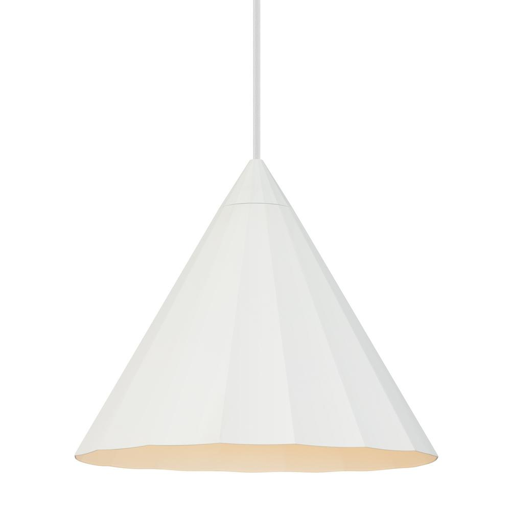 LBL Lighting Astora 1-Light White Pendant was $198.4 now $39.97 (80.0% off)