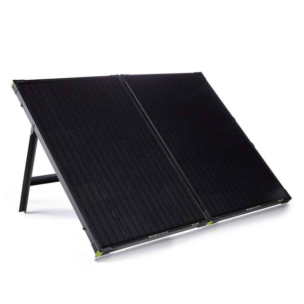 Boulder 200-Watt Briefcase Solar Panel