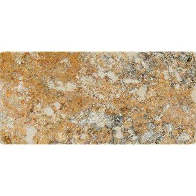 Tuscany Scabas 3 in. x 6 in. Tumbled Travertine Floor and Wall Tile (1 sq. ft. / case)