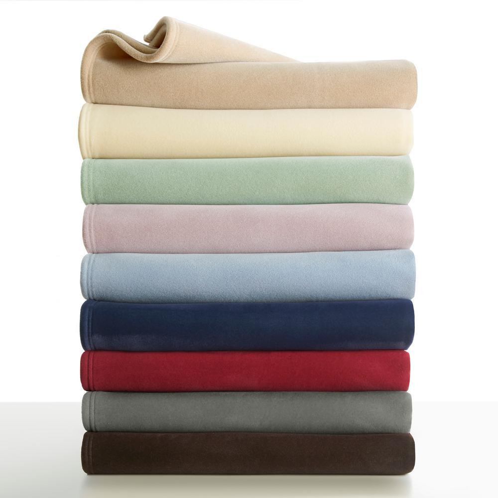 Original Tan Nylon Twin Blanket