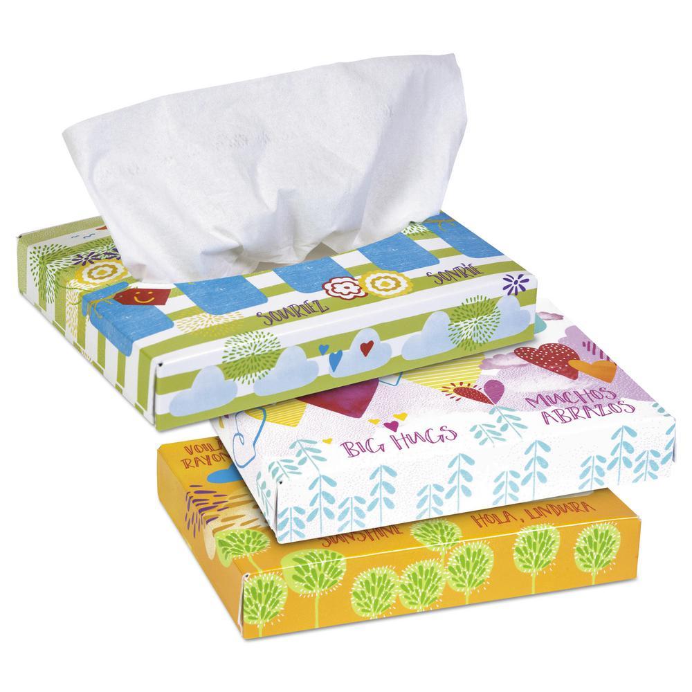 Kleenex Junior Facial Tissue 2-Ply (65-Count)