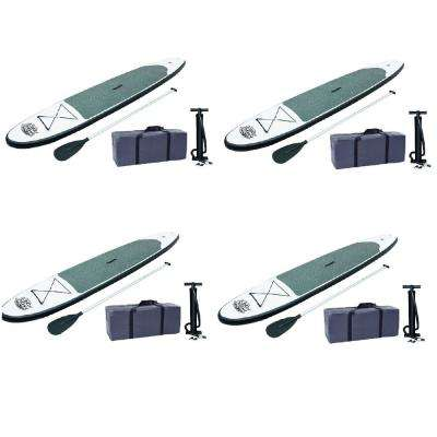 122 in. Inflatable Hydro-Force Wave Edge Stand Up Paddle Board (4-Pack)