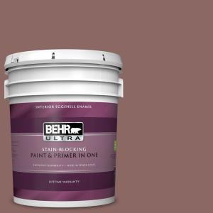 Behr Ultra 1 Gal Ppf 16 Paving Stones Eggshell Enamel Interior Paint And Primer In One 275001 The Home Depot