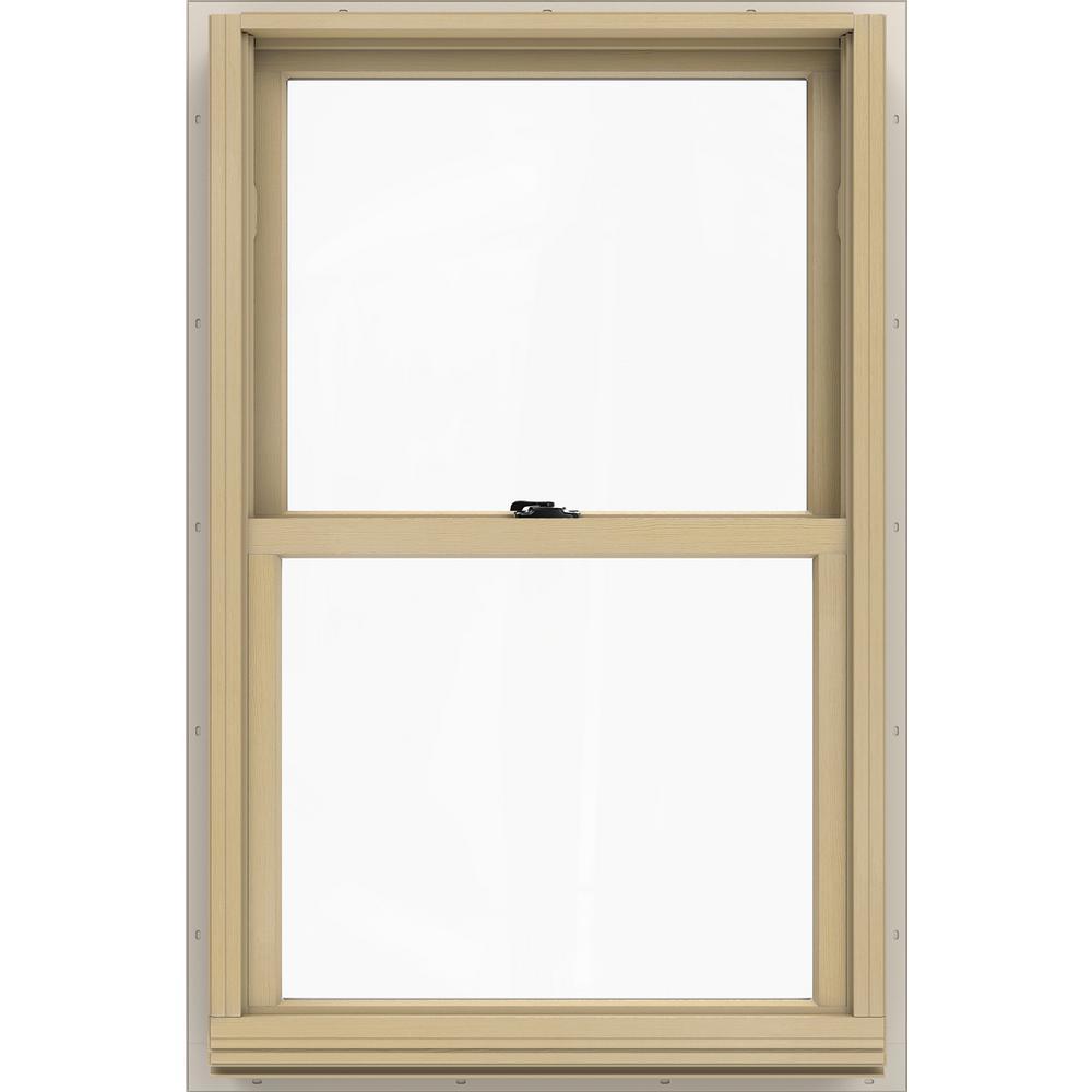 JELD-WEN 25.375 in. x 40.5 in. W-2500 Double Hung Wood Window